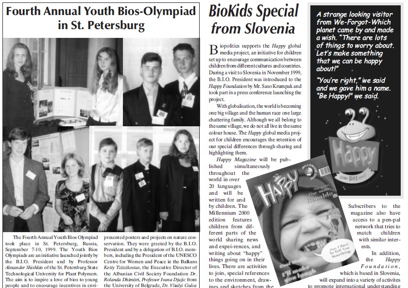 3rd Youth Bios Olympiad programme