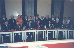 Honorary Professorship Award Ceremony & International Academy of Ecology, St. Petersburg - 1998_ph1