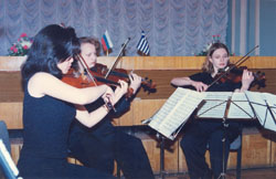 Honourary Doctorate, Mendeleyev University Programme 1997-ph2