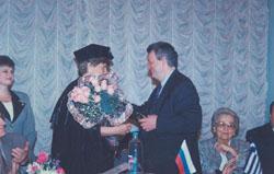 Honourary Doctorate, Mendeleyev University Programme 1997-ph4