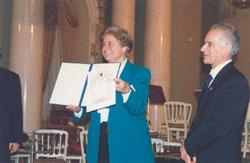 Honorary Professorship Award Ceremony & International Academy of Ecology, St. Petersburg - 1998_ph4
