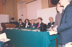 Honorary Professorship Award Ceremony & International Academy of Ecology, St. Petersburg - 1998_ph9