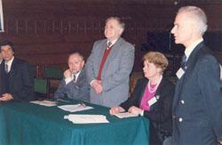 Honorary Professorship Award Ceremony & International Academy of Ecology, St. Petersburg - 1998_ph10