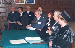 Honorary Professorship Award Ceremony & International Academy of Ecology, St. Petersburg - 1998_ph11