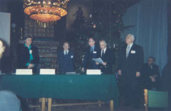 Honorary Professorship Award Ceremony & International Academy of Ecology, St. Petersburg - 1998_ph12
