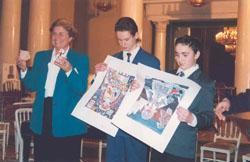Honorary Professorship Award Ceremony & International Academy of Ecology, St. Petersburg - 1998_ph5