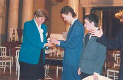 Honorary Professorship Award Ceremony & International Academy of Ecology, St. Petersburg - 1998_ph6