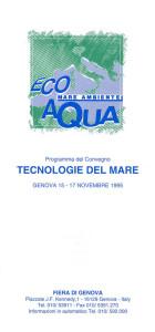 Ecoqua Mostra Mare, Genoa 1995