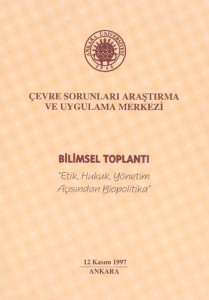 Conference on Biopolitics - An Interdisciplinary Perspective, Ankara University, Turkey, 1997_PROGR_001