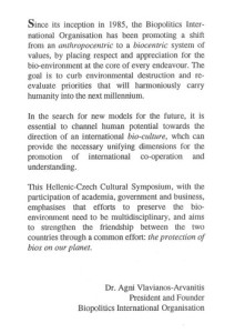 1995_Hellenic Czech Symposium_Programme2