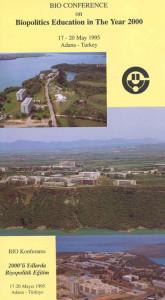 1995_Biopolitics Education in the Year 2000, Adana Turkey_PROGR_002