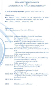 Euro-Mediterranean Forum, 2002 - Programme_PROGR_003