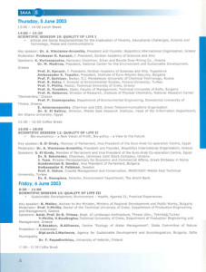 Ecological Protection of Planet Earth, Sofia 2003 Programme3