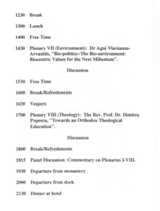 1994_Keynote address at the Conference on Theological Education and the Environment-Chalki, Turkey_PROGR_003